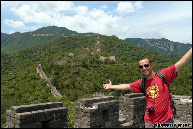 Muralla China, tramo de Mutianyu