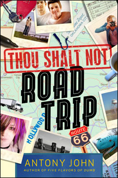 Tour Review: Thou Shalt Not Road Trip by Antony John