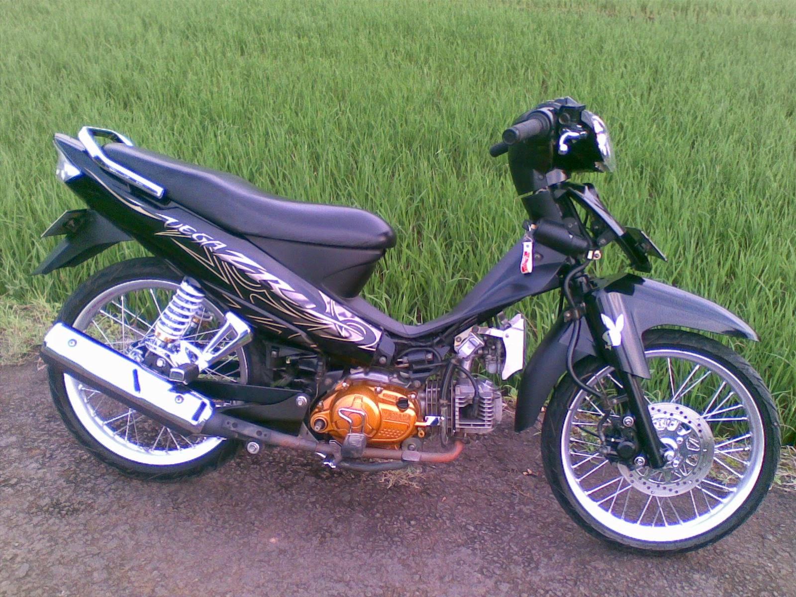 Yamaha Vega R Modifikasi Sederhana