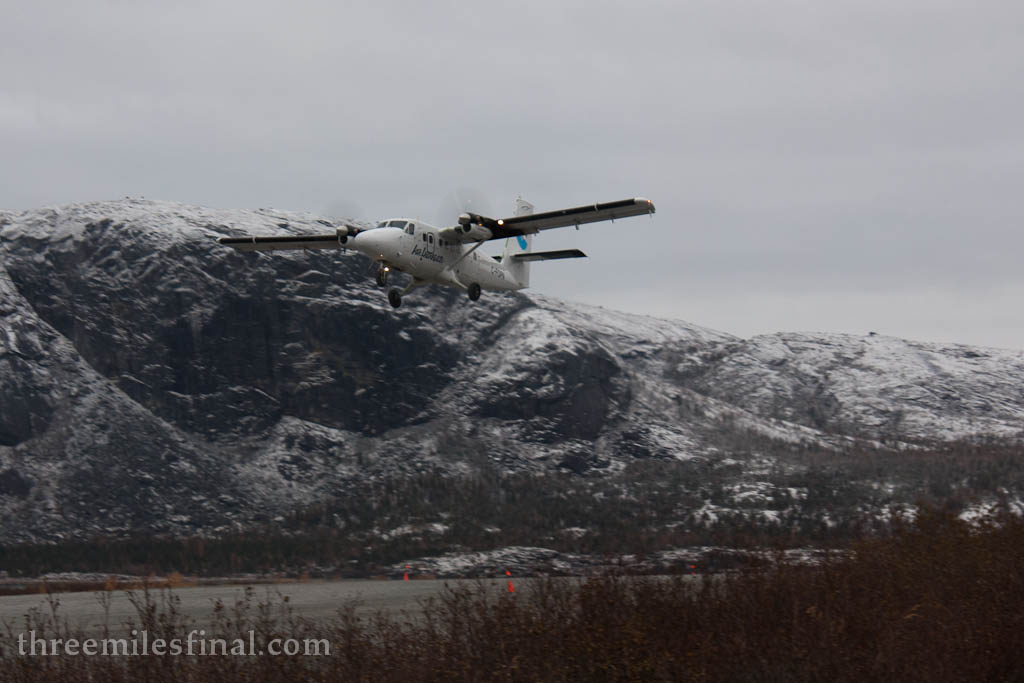 Air Labrador departing Runway 05.