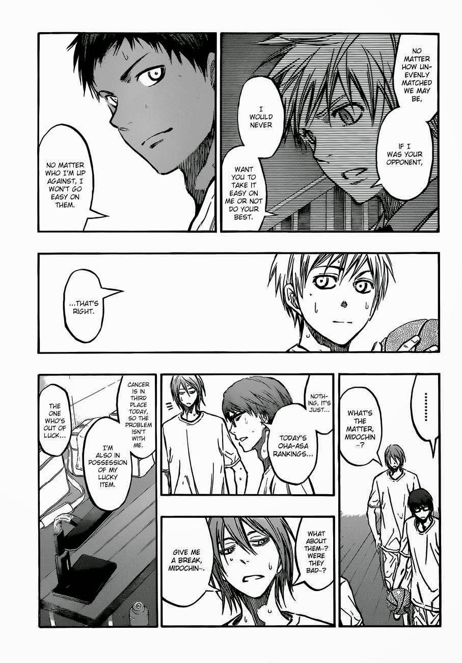 Kuroko no Basket Manga Chapter 215 - Image 03