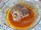 Muschi de porc cu usturoi la cuptor preparare reteta