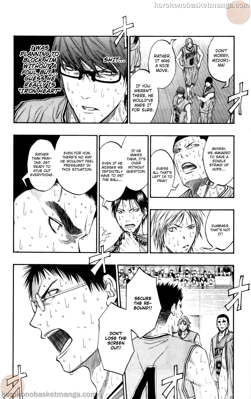 Kuroko no Basket Manga Chapter 92 - Image 08