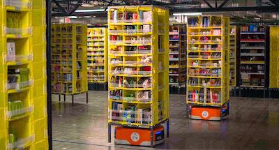 亞馬遜的機器人大軍Kiva http://www.bonny.com.tw/2014/12/amazon-kiva.html