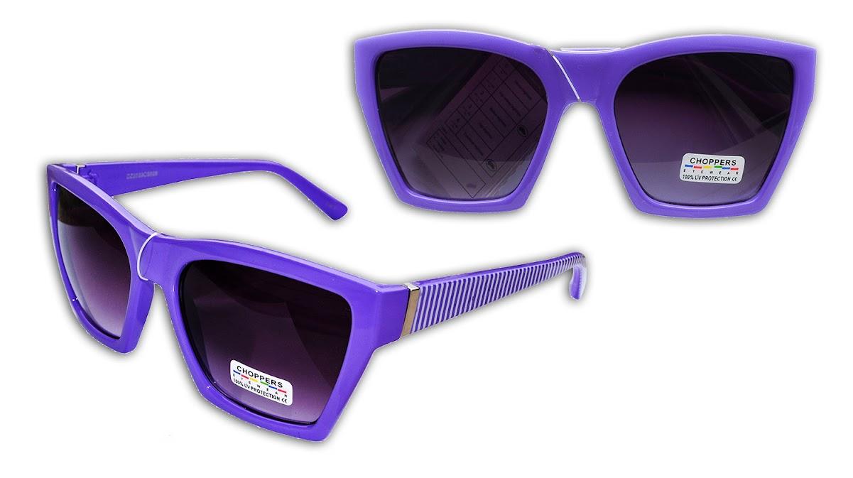 Occhiali Da Sole Sunglasses Donna Uomo Squadrati Montatura Viola Righe Lenti Gradiente P1QU8ukF6