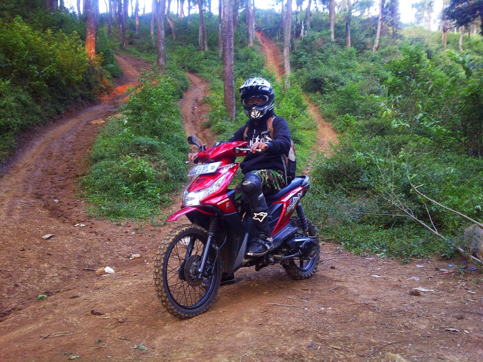 Modifikasi Honda Beat Jadi Trail