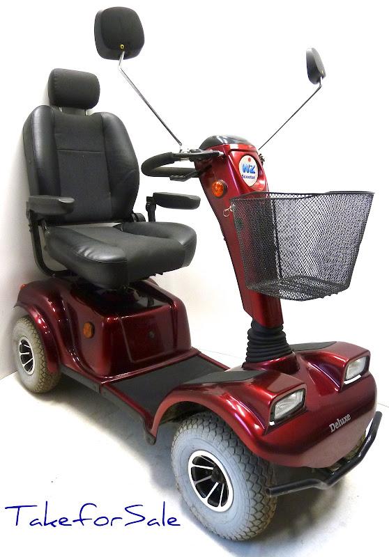 elektromobil elektroscooter wz scooter deluxe. Black Bedroom Furniture Sets. Home Design Ideas