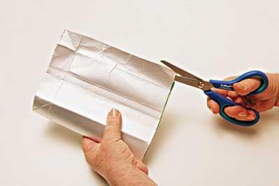 Carteira feita com Caixa de Leite