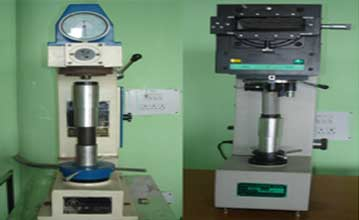 MECHANICS OF MATERIALS LAB (Brinell & Vicker's   Hardness Tester)