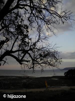 Sumbawa Seaside at twilight