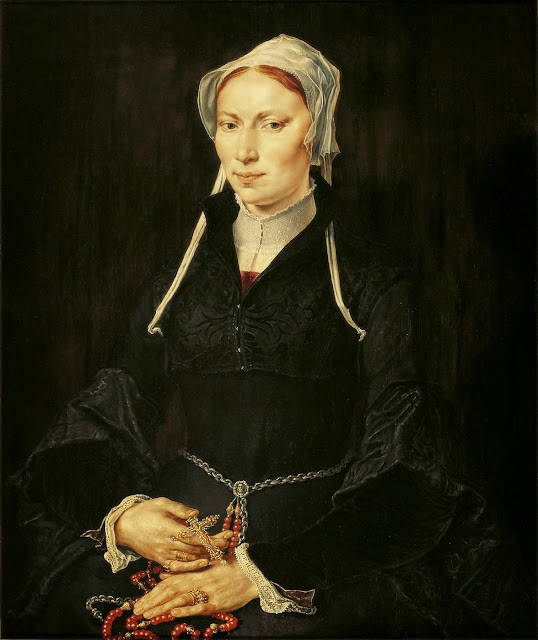 Maarten van Heemskerck - Painting of the nun Hillegond Gerritsdr