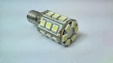 E14 LED lamp, λαμπτήρας LED E14 με 24 LED 5050