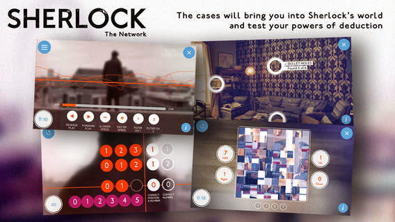 Sherlock: The Network v1.2 for iPhone