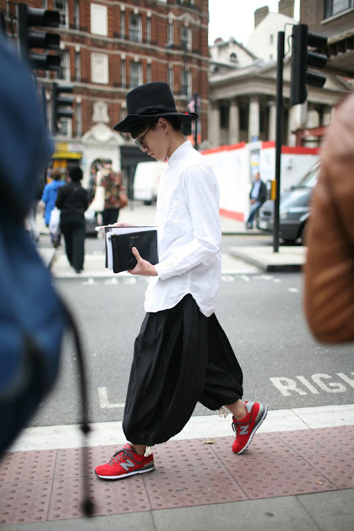 *英國倫敦時裝周場外街拍:攝影師Kuba Dabrowski捕捉街頭英倫紳士! 21