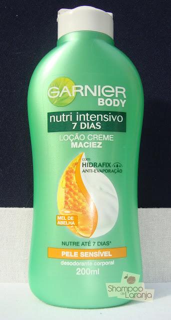 Testei: Garnier Body pele sensível
