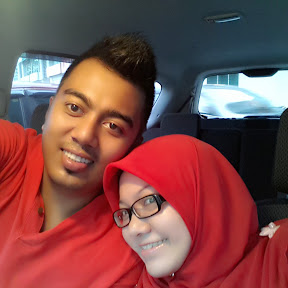 sweet husband with his sweet wife. Haha (muntahhhh)
