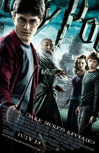 Poster Of English Movie Harry Potter and the Half-Blood Prince (2009) Free Download Full New Hollywood Movie Watch Online At alldownloads4u.com