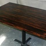 Custom Red Oak Plank Tabletops