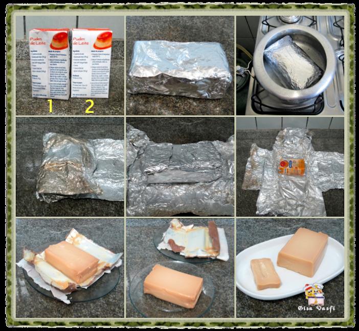 Cozinhando leite condensado em caixinha 3