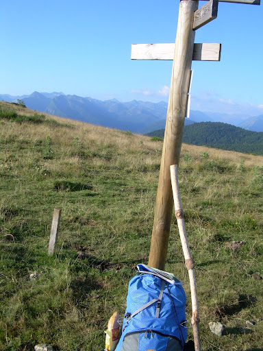 My hiking stick in the Pyrenees