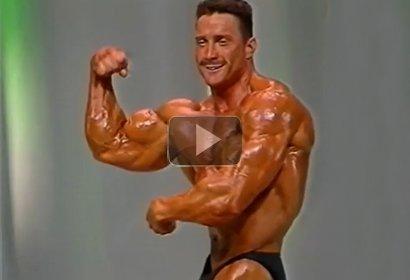 Jari Leino Mr. Olympia karsinta 1992 Helsinki