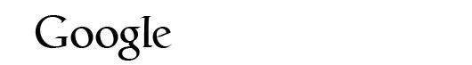 Catull font logo Google