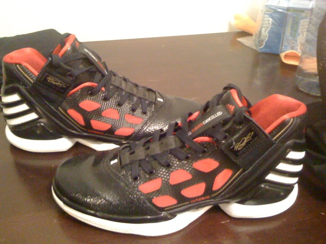 bf0b103fed7e UNDS ed  Adidas Adizero Rose 2 impression