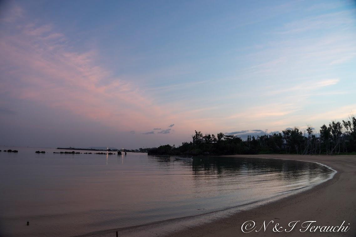 沖縄の朝陽