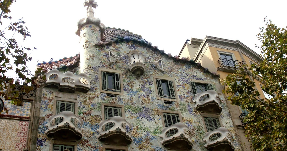 Casa batll barcelone ic ne du modernisme catalan blog d elisa n voyages photos - Casa en catalan ...