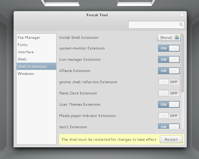 GNOME Tweak Tool 3.0.5