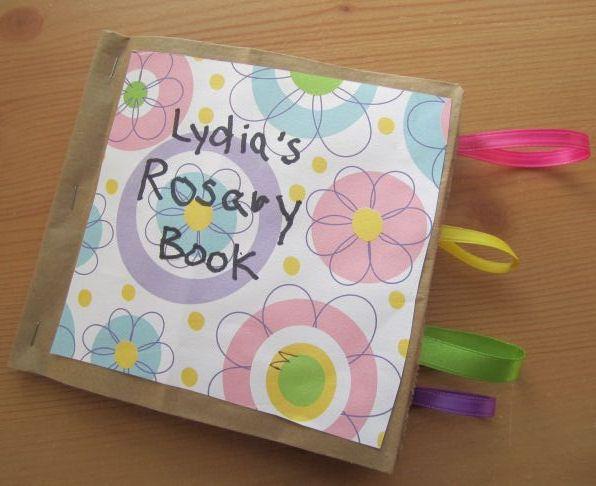 Catholic Icing Catholic Craft For Kids Make A Rosary Book