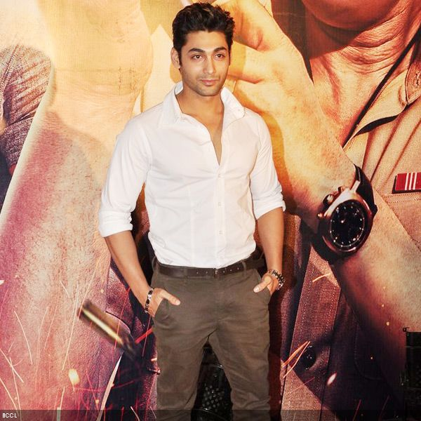Young talent Ruslaan Mumtaz at the premiere of the movie 'Zila Ghaziabad', held at PVR Cinema in Mumbai, on February 21, 2013. (Pic: Viral Bhayani)