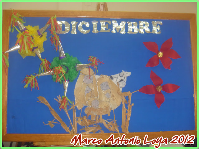 Periodicos murales for Mural navideno