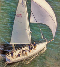 J/105 offshore sailboat