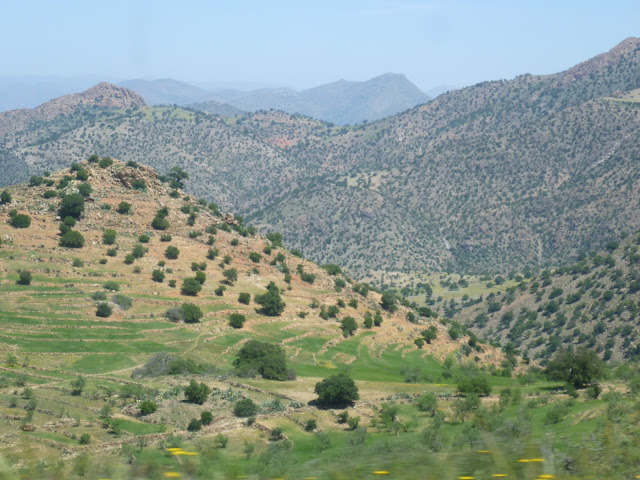 Scenery on the way to Tafraoute