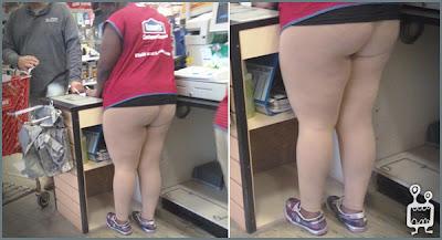 funny fat lowe's employee