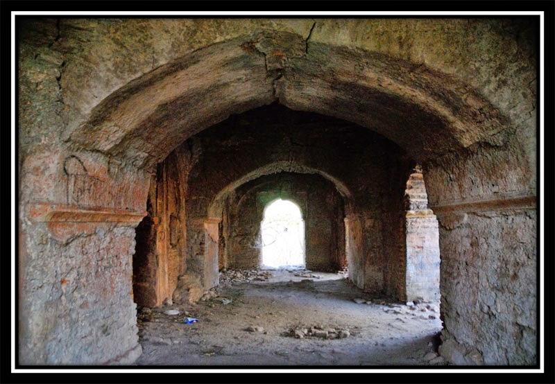 Mosque inside New Palamu Fort