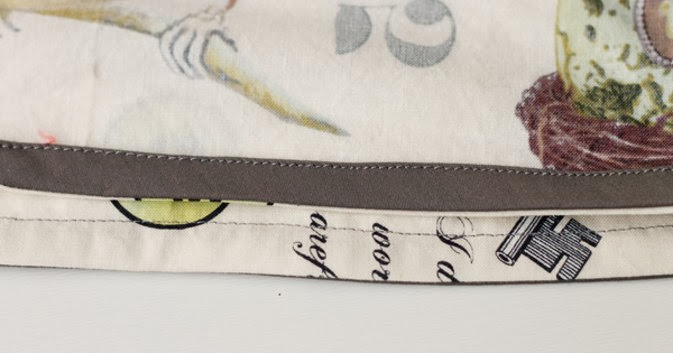 Serger Pepper - Bias Tape - bias hem facing