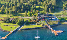 Chile's Lake Panguipulli sailing club