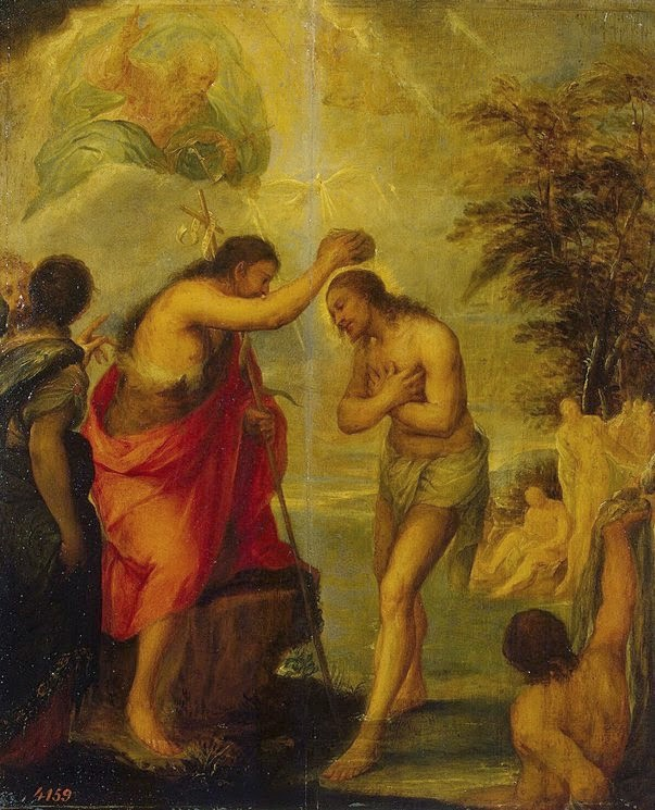 Juan Carreño de Miranda - Baptism of Christ