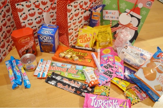 its christmas goodie bag time again i did a post last year too but for any who missed it the christmas goodie bag is something i do for my immediate