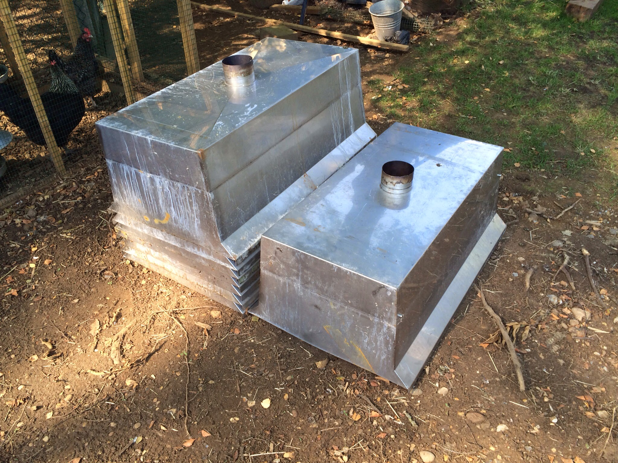Mark hobden main koi pond build filtration upgrade two for Second hand pond filters