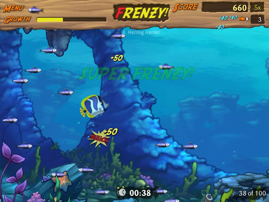 Feeding frenzy free offline games full version for Fish frenzy game