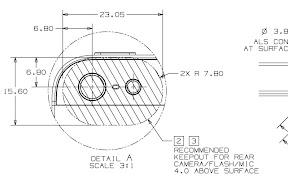 iPhone 5 Dimensional Drawing