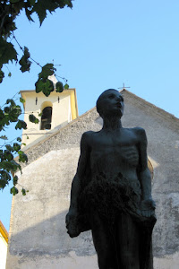 Sculpture in Corniglia