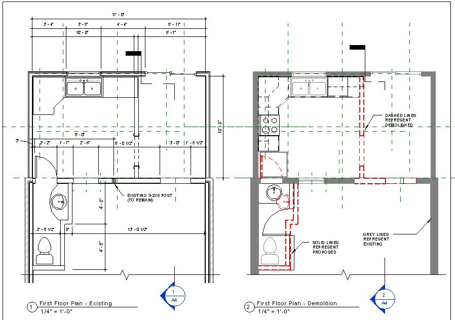 Building Demolition Drawing : Revit in plain english design adventures phasing