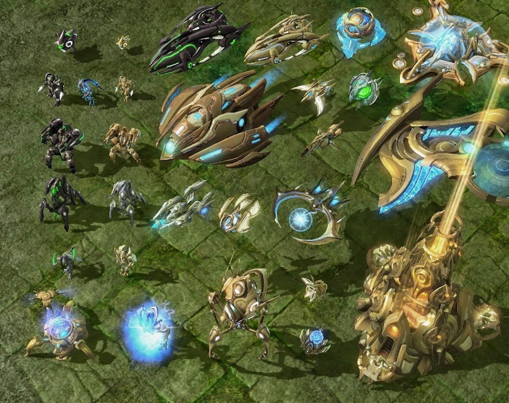 Starcraft  Buildings And Units