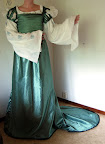 The Green Florentine Dream Gown