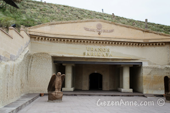 Kapadokya'da Avanos'taki Uranos Restoran