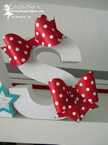 stampin up christmas weihnachtens designerschleifen bows